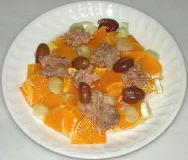 Hogar f cil recetas de cocina ensalada de naranja for Hogar cocina facil