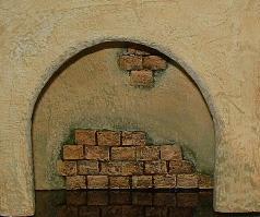 Manualidades - Muros para las edificaciones de los belenes